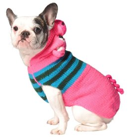 ChillyDog Piggy Hoodie+Ears Pink