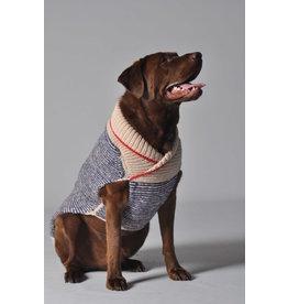 ChillyDog Spencer Shawl Blue Sweater