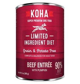 Koha LID Dog - Beef Entrée 13oz single