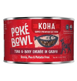 Koha Poke Bowl - Tuna & Beef Can 5.5oz single
