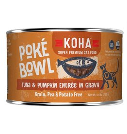 Koha Poke Bowl - Tuna & Pumpkin Can 5.5oz single