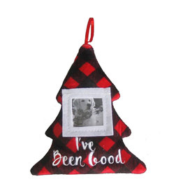 Huxley & Kent Frame Ornament I've Been Good