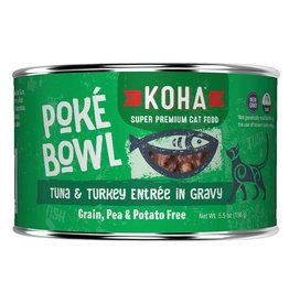 Koha Poke Bowl - Tuna & Turkey Can 5.5oz single