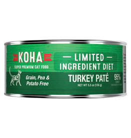 Koha LID - Turkey Pate Cat 5.5oz single