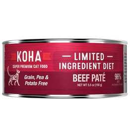 Koha LID - Beef Pate Cat 5.5oz single