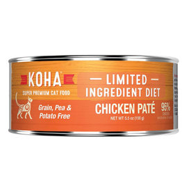 Koha LID - Chicken Pate Cat 5.5oz single