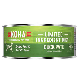 Koha LID - Duck Pate Cat 5.5oz single