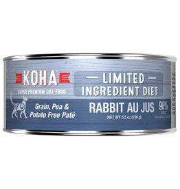 Koha LID - Rabbit Pate Cat 5.5oz single