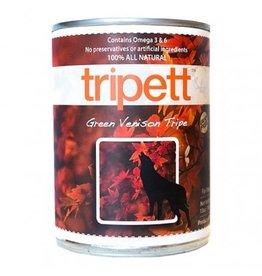 Tripett Dog Green Venison Tripe 396g single