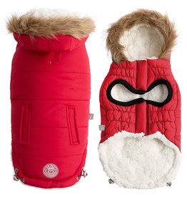 GF Pet Urban Parka - Red
