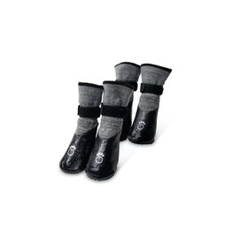 GF Pet Booties - Charcoal Grey