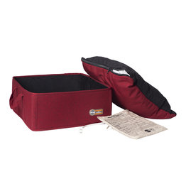 "K&H Pet Products Thermo Basket Bed Red 15x15"" 4 Watt"