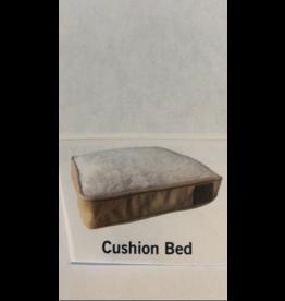 Tall Tails Cushion Bed - Khaki - LG 36x23x3
