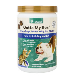 NaturVet Soft Chew Outta My Box 500CT