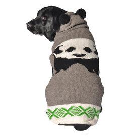 ChillyDog Panda Hoodie+Ears Grey - SM