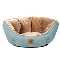 SnooZZy Rustic Rustic Elegance Clamshell Bed Teal 19x17x9""
