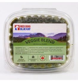 Red Dog Blue Kat Organic Veggie Mix 1LB Clamshell
