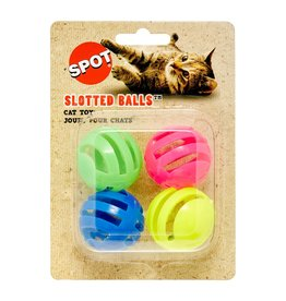 Spot - Ethical Pet Products Slotted Balls 4PK