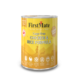 FirstMate Dog GFriendly Cage Free Chicken/Rice 12.2 oz single