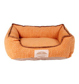 Happy Tails Chenille Cuddler Burnt Orange 24 x 20