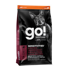 Petcurean GO! Sensitivities LID  GF Lamb 22LB