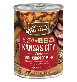Merrick GF BBQ Kansas City Style Pork