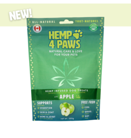 Hemp 4 Paws Hemp Infused Dog Treats with Apple