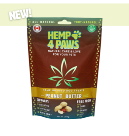 Hemp 4 Paws Hemp Infused Dog Treats with Peanut Butter