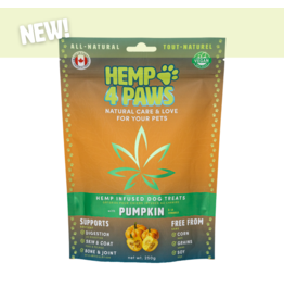 Hemp 4 Paws Hemp Infused Dog Treats with Pumpkin