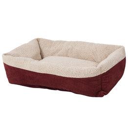 Aspen Pet Self Warming Lounger Red 35x27