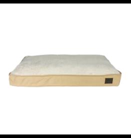 Tall Tails Cushion Bed Khaki | XL 42x28x3