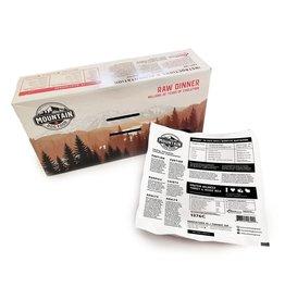 Mountain Dog Frozen - Protein Balance Turkey & Veg Bulk 4.8LB
