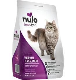 Nulo Dry Food - FreeStyle - Adult Hairball Management - Turkey & Cod Recipe