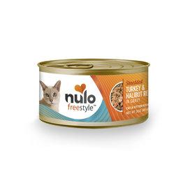 Nulo FreeStyle - Cat - Shredded Turkey & Halibut in Gravy Recipe 3oz