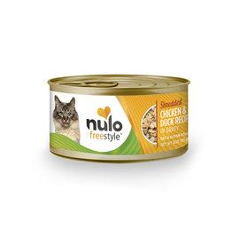 Nulo FreeStyle - Cat - Shredded Chicken & Duck in Gravy Recipe 3oz