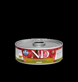 farmina N&D Cat Quinoa URINARY Duck 80g