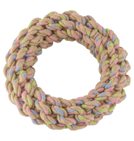 Beco Hemp Tough Rope Ring 16.5cm