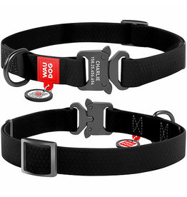 WauDog Waterproof Dog Collar with QR Passport