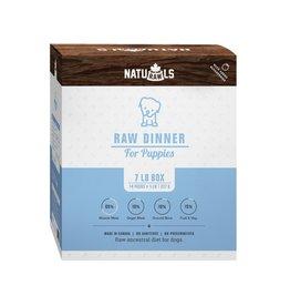Naturawls Frozen - Raw Dinner Puppies 14/227GM 7LB Box