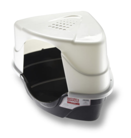 Natures Miracle Advanced Hooded Corner Litter Box