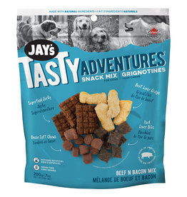 Jay's Beef N' Bacon Snack Mix 200GM