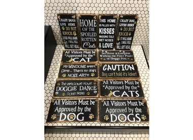 Country Primitive/Custom Signs