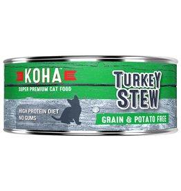 Koha High Protein Stew Turkey - Cat 5.5oz