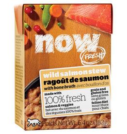 Petcurean NOW Salmon Stew with Bone Broth 6.4OZ / Cat