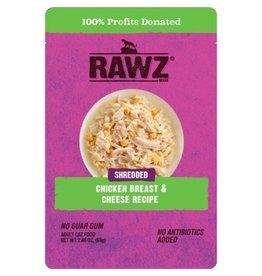 Rawz Cat Shredded Chicken Breast & Cheese Pouch 2.46oz