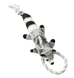 """Spot - Ethical Pet Products Skinneeez Tug Forest Racoon Mini 14"""""""