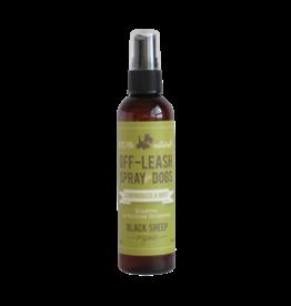 Black Sheep Lemongrass & Mint Off leash Spray 4oz