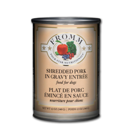 Fromm Dog Four-Star Shredded Pork Entree 12 oz