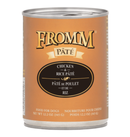 Fromm Dog Chicken & Rice Pate 12.2 oz