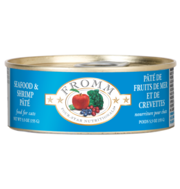 Fromm Cat Four-Star Seafood & Shrimp Pate 5.5 oz